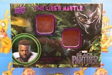 2018 UD Marvel Black Panther MEMORABILIA CARD KM-MB M'Baku - Leather-Suede : C 1