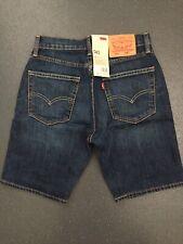 levi 505 size 28W blue denim shorts