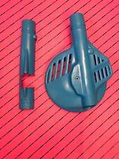 Suzuki Rm 125 250  Cp France Disc Fork Cover Guard Nos 1986-1989 Evo BLUE