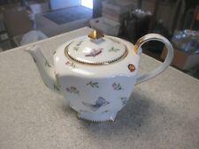 "I. Godinger & Co. ""Primavera"" Teapot  - Flowers, Butterflies & Bees"