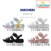 Skechers D Lites 2.0-Style Icon / Flower Child Women Water Shoes Sandal Pick 1