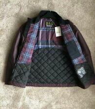 Barbour Barnby Wax Jacket. Merlot. Size XL. RRP £199. BNWT