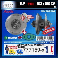 CHRA Melett Audi A5 2.7 TDI 190 163 CGKA CAMB CAMA Turbo 777159 GT1756V