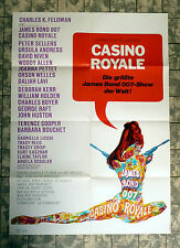 JAMES BOND 007 * CASINO ROYALE - A1-FILMPOSTER - Ger 1-Sheet ´67 NIVEN, ANDRESS