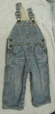 Baby Gap Toddler Girl Boy Denim Overalls Lined Size 18-24 months