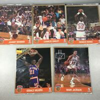 NBA Hoops 8x10 Action Photos Team Set New York Knicks -  Ewing Wilkins others