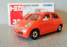Tomica TOMY No.35 1:58 NISSAN MARCH...Orange Bodywork..Mint n Boxed