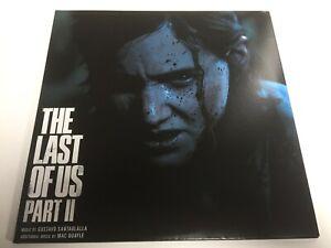 Gustavo Santaolalla The Last of Us Part 2 Soundtrack Vinyl 2 Black LP