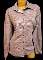 Rockies gray red polka dots long sleeves spandex stretch buttoned down top XXL