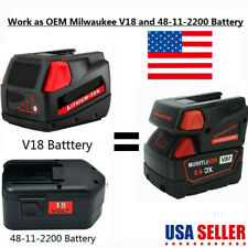 V18 Battery Adapter 18V Li-ion Battery Adapter to milwaukee fit for Milwaukee