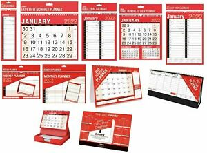 2022 Wall Calendar Slim Calender, Large Month to View Planner,Easy View Calendar
