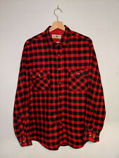 Vintage Men's Check Flannel Shirt - Northwest Territory - XL - Red/Black/Green
