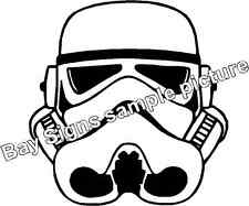 Storm Trooper Star Wars Gloss Vinyl Car Sticker Auto Decal Scooter Graphic