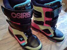 Osiris Colorful Board Boots Size 4