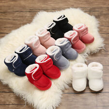 Infant Toddler Winter Snow Boots Baby Boy Girl Comfortable Corduroy Warm Booties