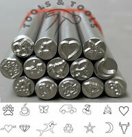 5.0 mm Assorted Shapes Precision Design Metal Punch Stamps Buy Individual/ Set