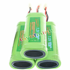 3 pcs 7.2V 3800mAh Ni-Mh rechargeable battery pack RC