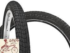 "KENDA KONTACT  18"" X  2.00"" BLACK BICYCLE TIRES---1 PAIR"
