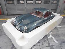 """Porsche 356 A Carrera Coupe"""" 70 ans Porsche """"Bleu Blue Met NEUF SCHUCO 1:18"""