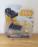 Star Wars Die-Cast Disney Han's Speeder Mattel Hot Wheels Starships Flight Stand