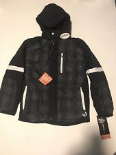 $130 Hawke & Co Boy Winter Jacket Coat 2 In 1 System  youth large 14/16