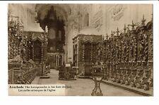 CPA - Carte postale- Belgique -Averbode -Stalles artistiques de l'église -1928