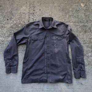 Triple Aught Design Mens Shirt gray size M