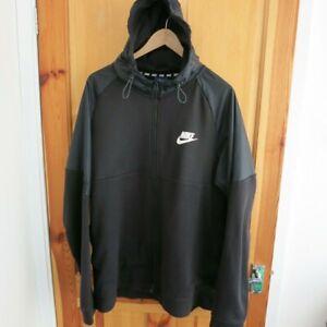 Mens Nike Black Hoodie Sweatshirt -Size XL