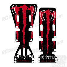 T-Maxx / E-Maxx INTEGY Skid Plate Protectors Monster- Red - Traxxas