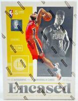 2019-20 Panini Encased Basketball Factory Sealed Unopened Hobby Box - 4 Hits!