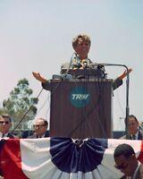 Senator John F Kennedy rides in a small plane in Idaho New 8x10 Photo
