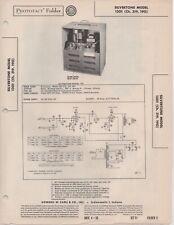 1950 SILVERTONE 1301 TUBE AMPLIFIER AMP SERVICE MANUAL PHOTOFACT SCHEMATIC FIX