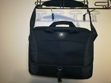 "Swiss Gear by Wenger Black Computer Case - Laptop Bag 17"" Wide by 13"" Tall Exc"