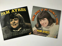 Pam Ayres Vinyl LP Records - Some More Of Me Poems & Songs + Self Titled  (334)