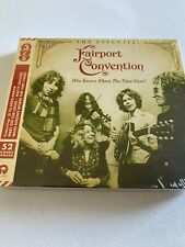 Fairport Convention 3 x CD 2017 Essential 52 Tracks Sandy Denny *NEW/SEALED*