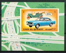 Umm al-Qiwain 1972 SG Z10 Foglietto 100% ** Auto