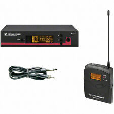 SENNHEISER EW172G3-B Wireless System with Built-in EQ and Guitar Tuner