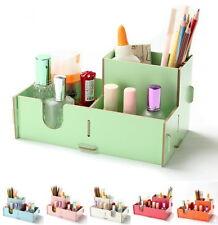 DIY Schreibtisch Kosmetik MDF Organizer Stifthalter Stiftebecher Ablage Farbe