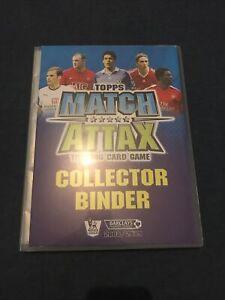 Match Attax 2008/2009 - Complete Binder Album
