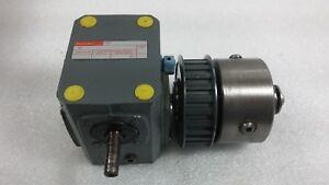 Boston Gear, Gear Reducer w/ Pulley 10:1 1750 RPM