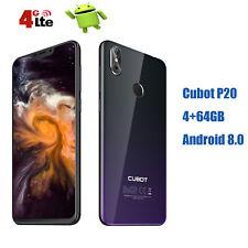 4+64Go Cubot P20 Twilight 6.18'' 8Core 2SIM FHD+ 4G Smartphone Téléphone Unlock