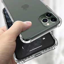 IPHONE 12/PRO/PROMAX Transparent Shockproof Soft Silicone Case FREE SHIPPING !!!
