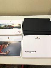 Porsche Boxster/Cayman 718 Drivers/Owners Handbook Manual, Service Book Pack
