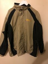 Jack Wolfskin Shower Waterproof Jacket Coat Men's L Large Brown