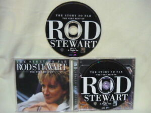 Rod Stewart CD x2 The Story So Far LIKE NEW Remastered VERY BEST - 34 Tracks