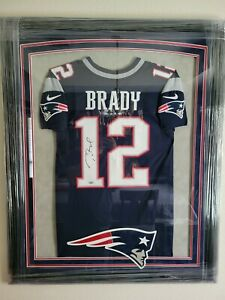 Tom Brady Framed In Nfl Autographed Jerseys for sale   eBay