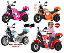 Moto Eléctrico para Niños Chopper Para Niños Con Luces Y Sonidos