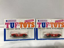 Lot 2x Chevrolet 2603 Stingray Sport Corvette 1968 Lone Star Tuf Tots Diecast