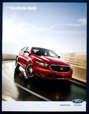Prospekt brochure 2013 Ford Taurus * SHO (USA)