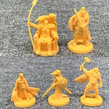 4cm tall 5 pcs Heroes Dungeons & Dragon D&D Nolzur's Marvelous Miniatures figure